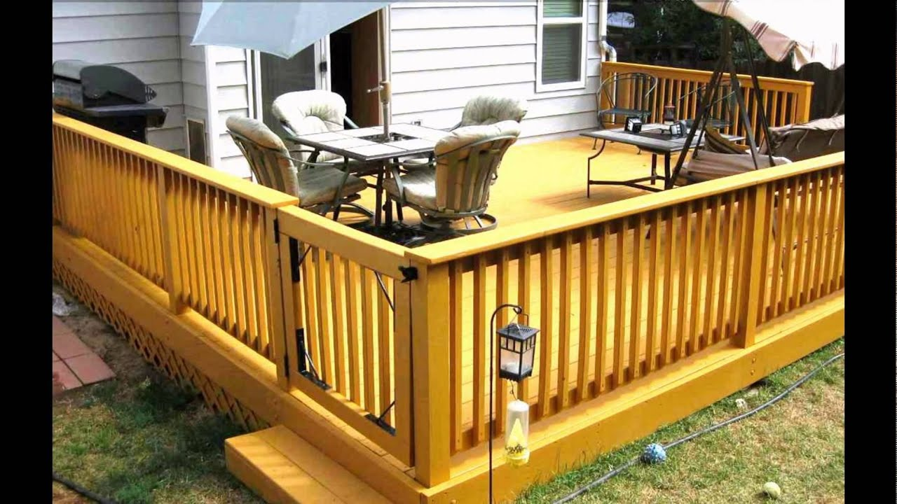 Decks Designs Patio Backyard