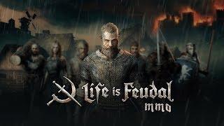 Video de LIFE IS FEUDAL MMO  CON REVENANT - Nuestro primer terreno, caza , combate y matrimonio (?)
