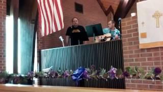Brian Scanlan - Rock of Ages @Chews United Methodist Church