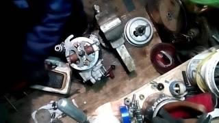 Ветерок 8. Настройка контактного зажигания