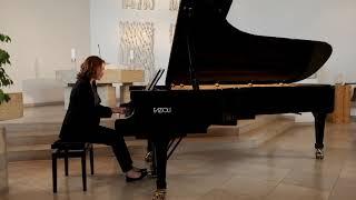 Bach Goldberg Variations BWV 988, Aria - Claire Pasquier - FAZIOLI 278