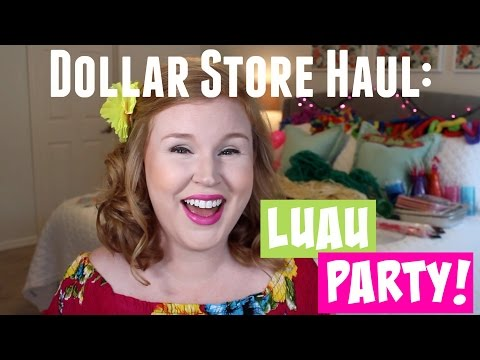 Dollar Store Haul: Luau Party!