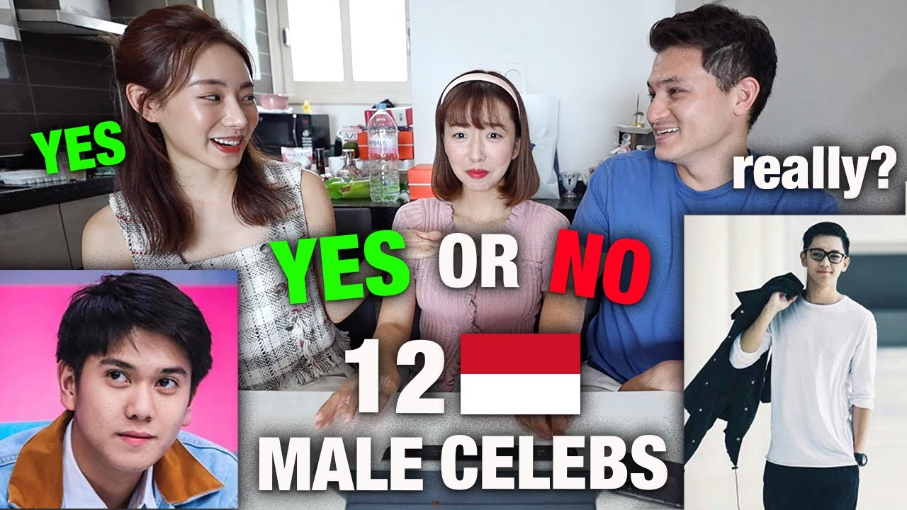 KOREAN ACTRESS RATES 12 INDONESIAN MALE CELEBRITIES | YES OR NO? 😱