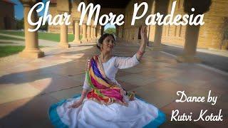 Ghar More Pardesiya | Kalank | Dance by Rutvi Kotak