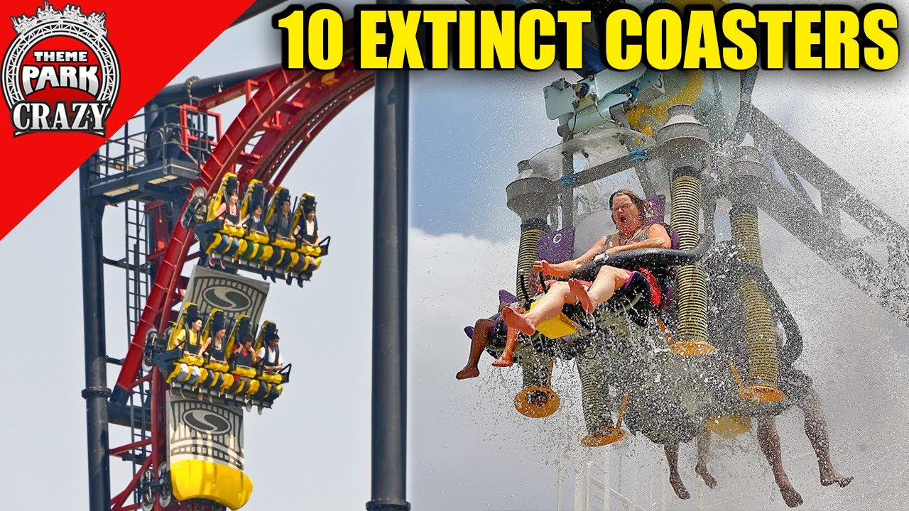 Top 10 Extinct Roller Coaster Models You Can't Ride Anymore