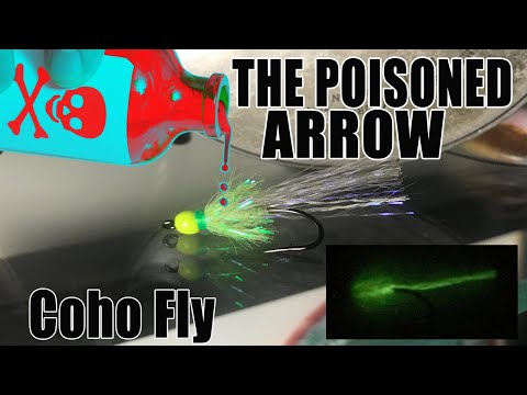 Pacific Angler Fly Tying - The Poisoned Arrow Coho Fly