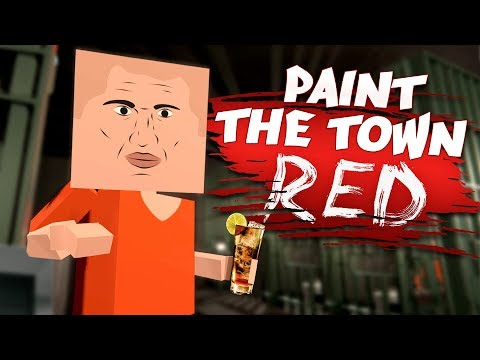 LIFE IN PRISON ISN'T SO BAD! - Best Workshop Levels - Paint The Town Red Gameplay