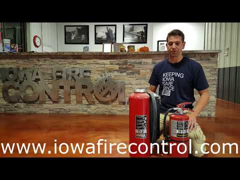 Cartridge Operated Versus Stored Pressure From Iowa Fire Control