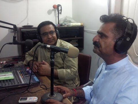 Saleem Raza Kumbhar, Singer & Composer Of Sindh On Hot FM 105 Larkano