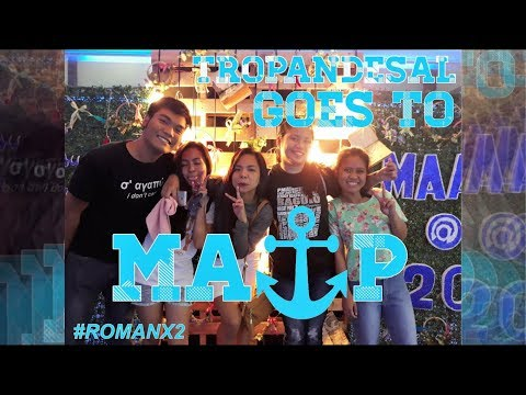 #ROMANX2: Tropandesal Goes to Maritime Academy of Asia and the Pacific