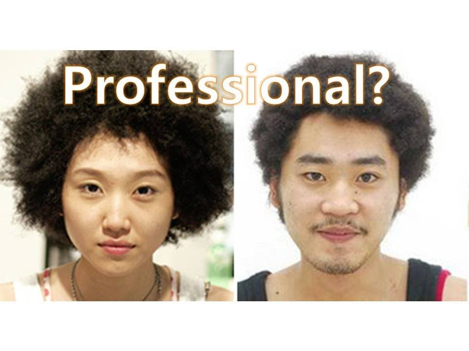 Asian perm for african americans
