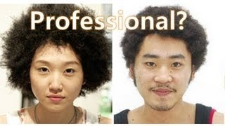 Korean Afros... Perspectives on Curly Hair