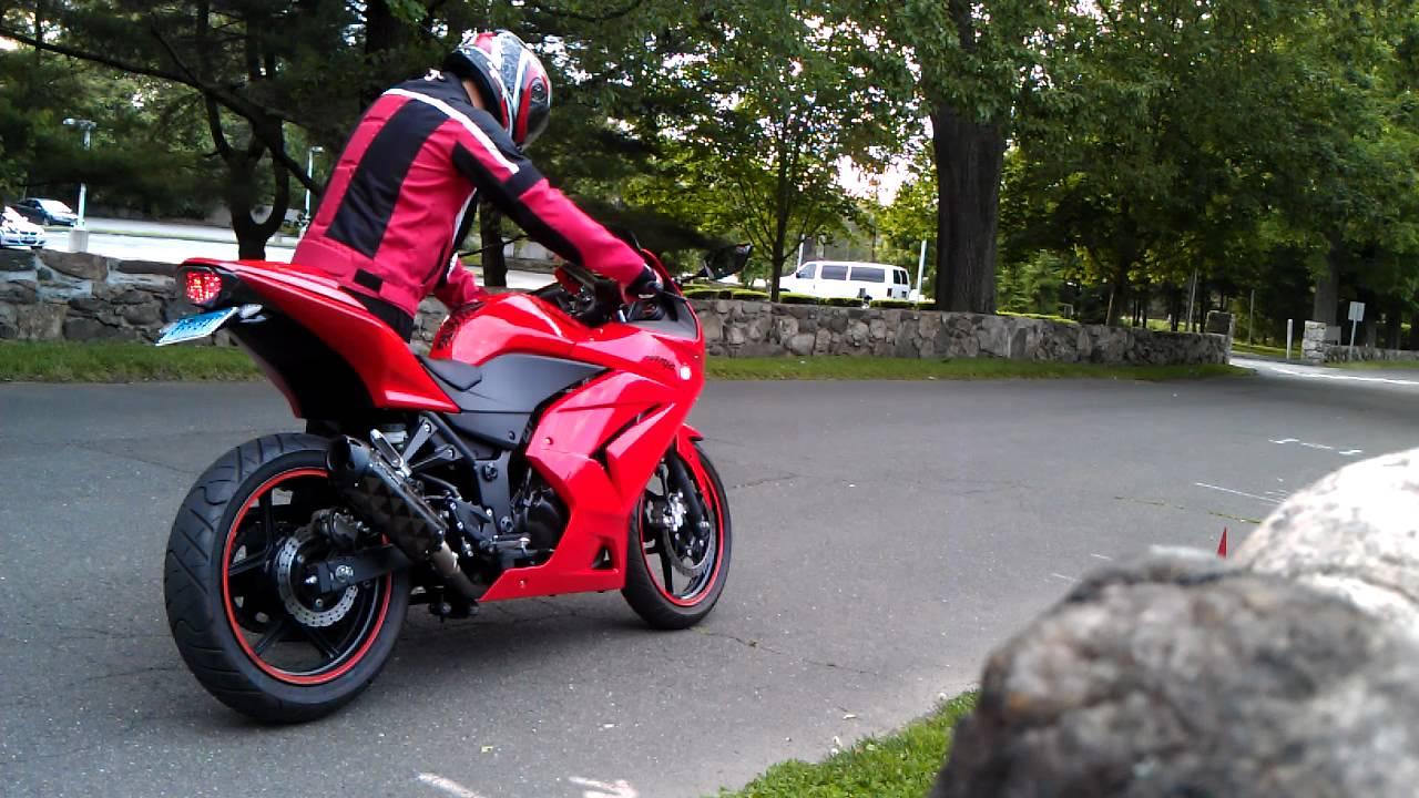 2009 Ninja 250r Two Brothers Exhaust Rev Youtube