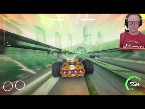 The Worlds Fastest Racing Game? (Grip Gameplay)