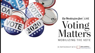 Mobilizing the Vote with Deval Patrick,  Zach Carothers & Amy Lee (Full Stream 10/16)