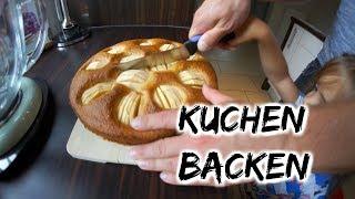 Wir backen einen Kuchen - Handwerker im Haus - Vlog#808 Rosislife