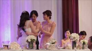 Paige & Christian's Wedding DVD Chapter 10 Bridal Party Speeches