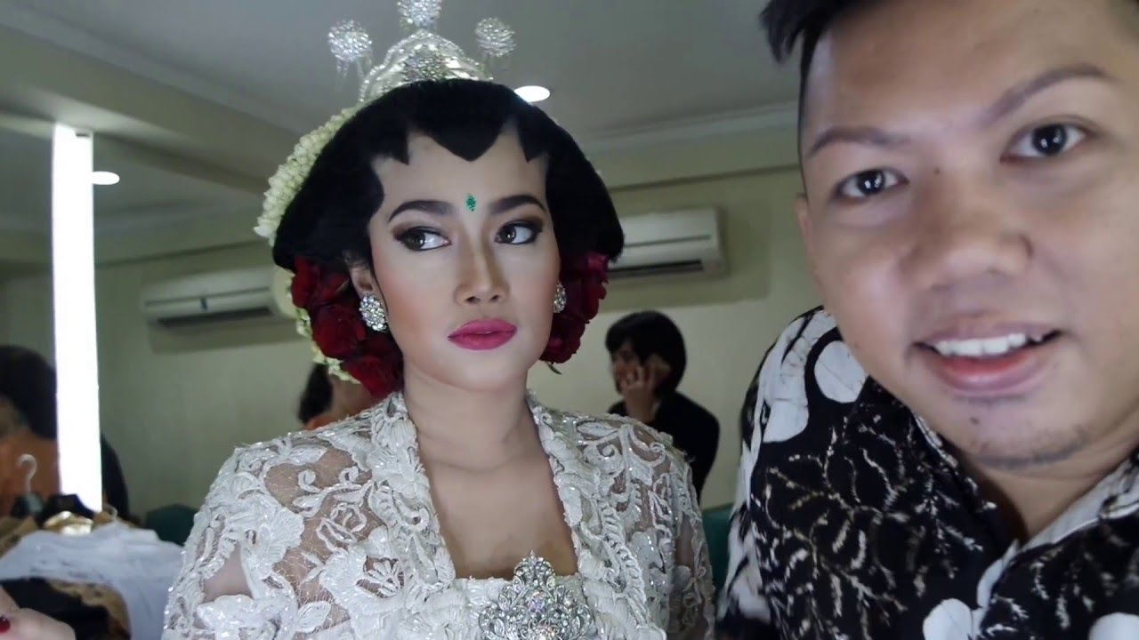 Ratu Felisha Akad Nikah Indonesian Wedding Makeup Artist Youtube
