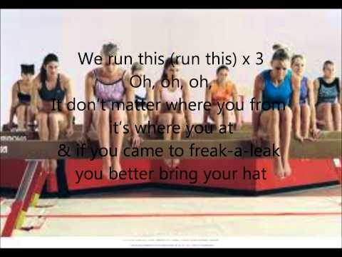 We run this lyrics Stick it style