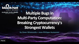 Multiple Bugs in Multi-Party Computation: Breaking Cryptocurrency's Strongest Wallets