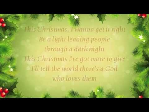 7eventh Time Down - This Christmas - (with lyrics)