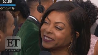 Taraji P. Henson Shades Ryan Seacrest On Oscars Red Carpet