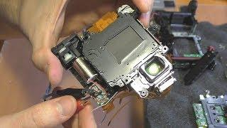 ЖУЖЖИТ И ВЫПАДАЕТ В ОШИБКУ зеркалка Nikon D90 (Err)