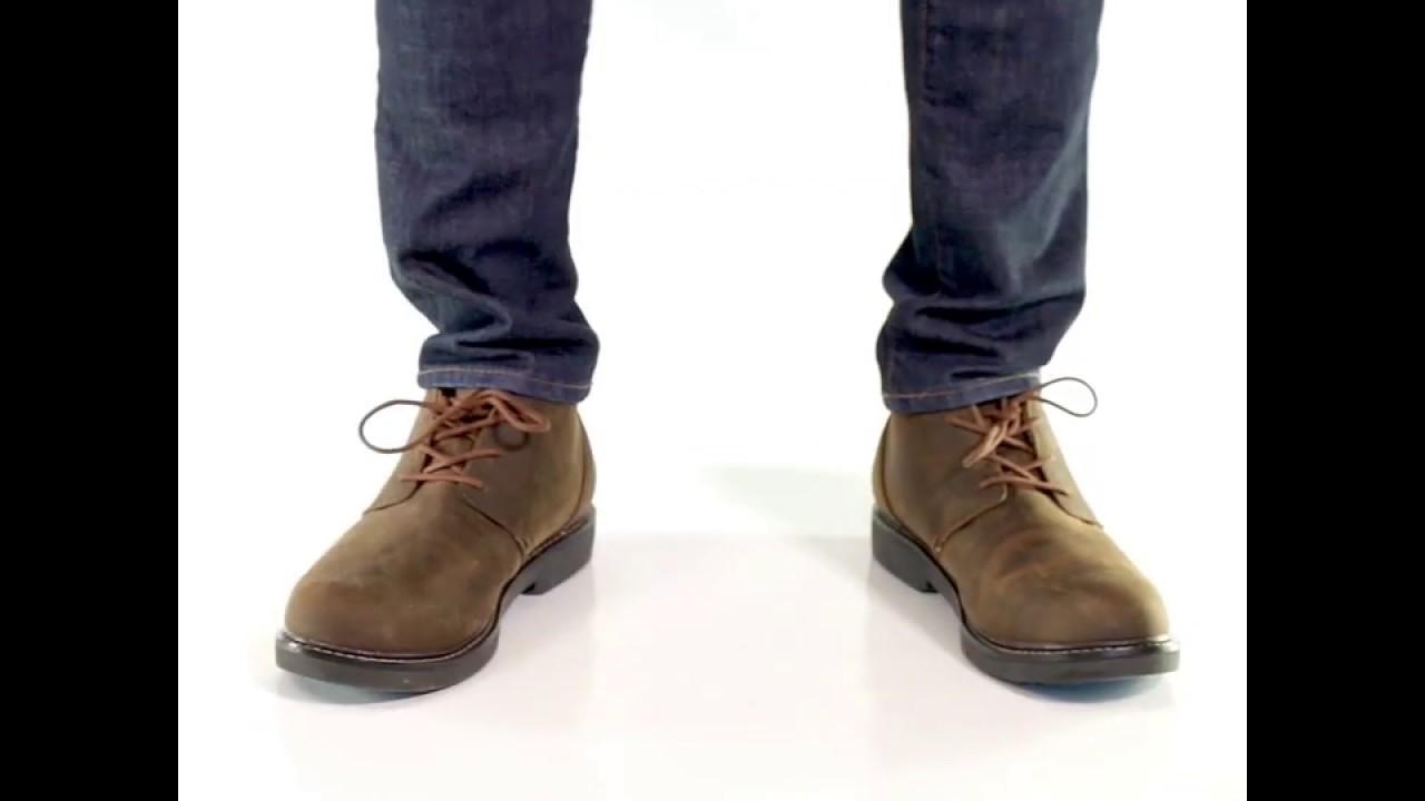 8 Brown Apex Mens LT410M Chukka Boot