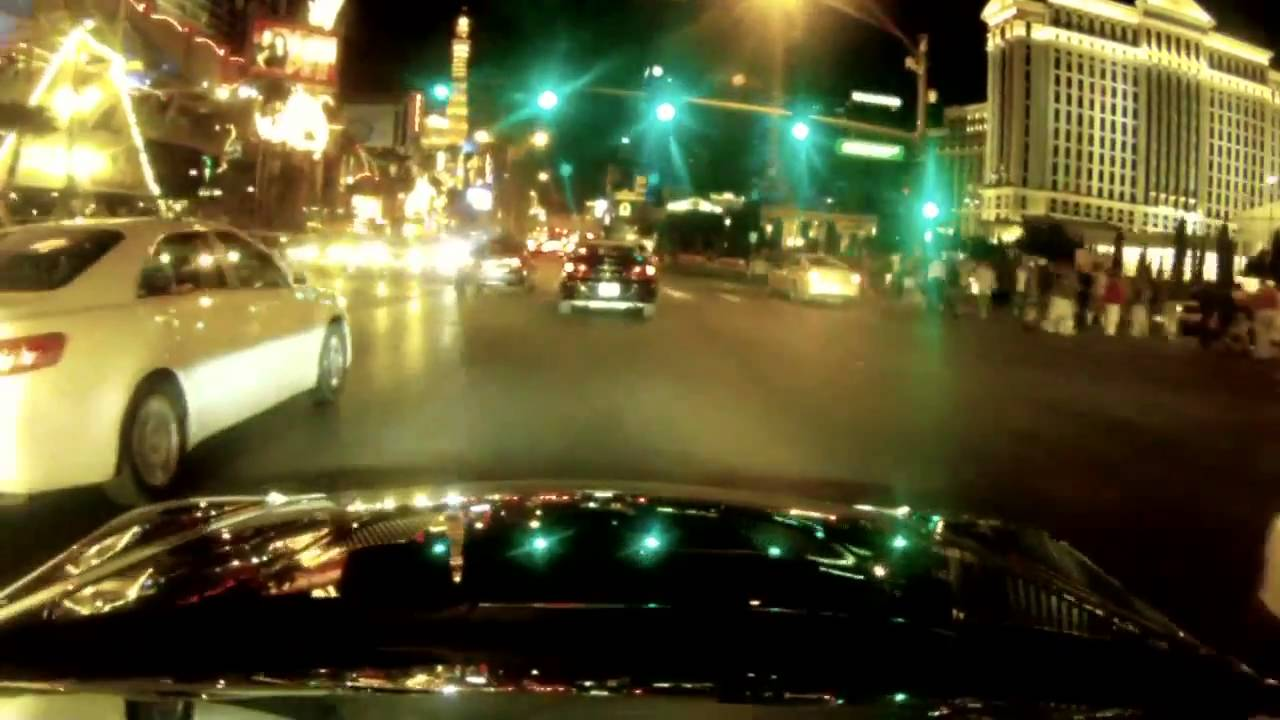 2012 Lexus LFA Road Trip: Driving the Strip