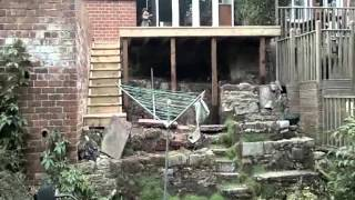 Decking On A Steep Slope Pics & Video