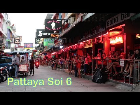 Pattaya Soi 6 in the Daytime - Vlog 201