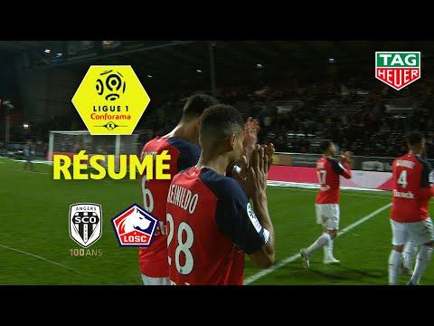 Angers SCO - LOSC ( 0-2 ) - Résumé - (SCO - LOSC) / 2019-20