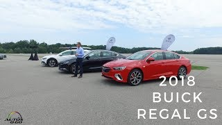 2018 Buick Regal GS world debut in Mildford, Michigan