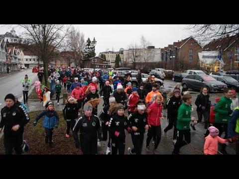 Nyttårsløpet 2018 i Fredrikstad, må ha vært over 1000 løpere. Fantastisk Fredrikstad