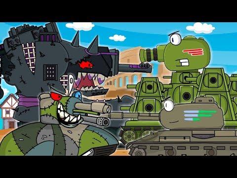 Все серии КВ-44 третья часть Арена Монстров начало : Мультики про танки