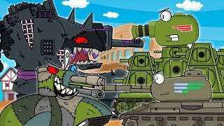 All series KV-44 third part Monster Arena start: Cartoons about tanks