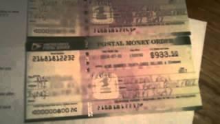 Mystery Shopper SCAM Fake Postal Money Orders