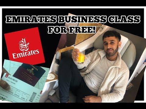 FREE EMIRATES BUSINESS CLASS UPGRADE!
