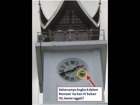 Ternyata Beginilah Cerita Misteri di Balik Angka 4 pada Jam Gadang Kota Bukittinggi