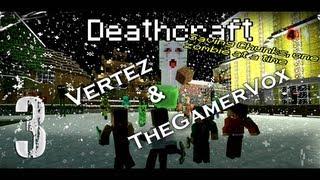 [#3] Minecraft dla Zmarłych - Deathcraft II (Vertez & TheGamerVox) L4D2 - Twierdza / Nether