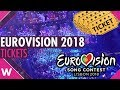 Eurovision 2018 tickets: Info, prices, sale date