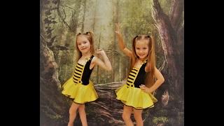 пчёлка Майя - песня  Анжэлина и Дэнилина. Двойняшки поздравляют