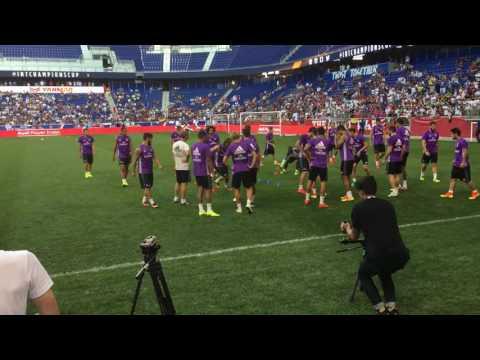 Real Madrid Training Drills