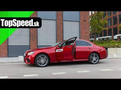Test: Mercedes-Benz E350d (W213) TopSpeed.sk