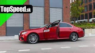 Test Mercedes-Benz E350d (W213) TopSpeed.sk