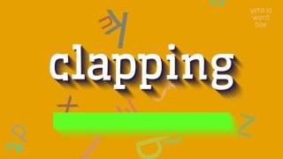 Download lagu How to sayclapping MP3