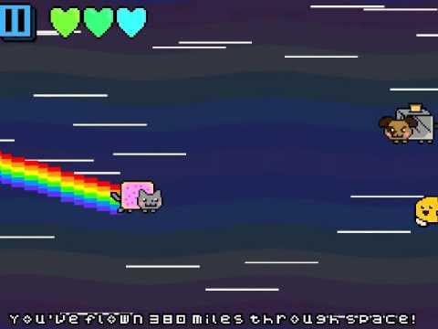 Nyan Cat! Sky Attack gameplay