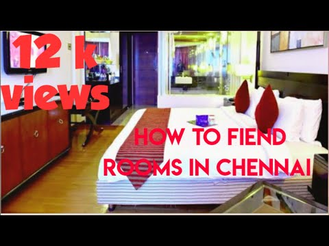 How to find a room in Chennai