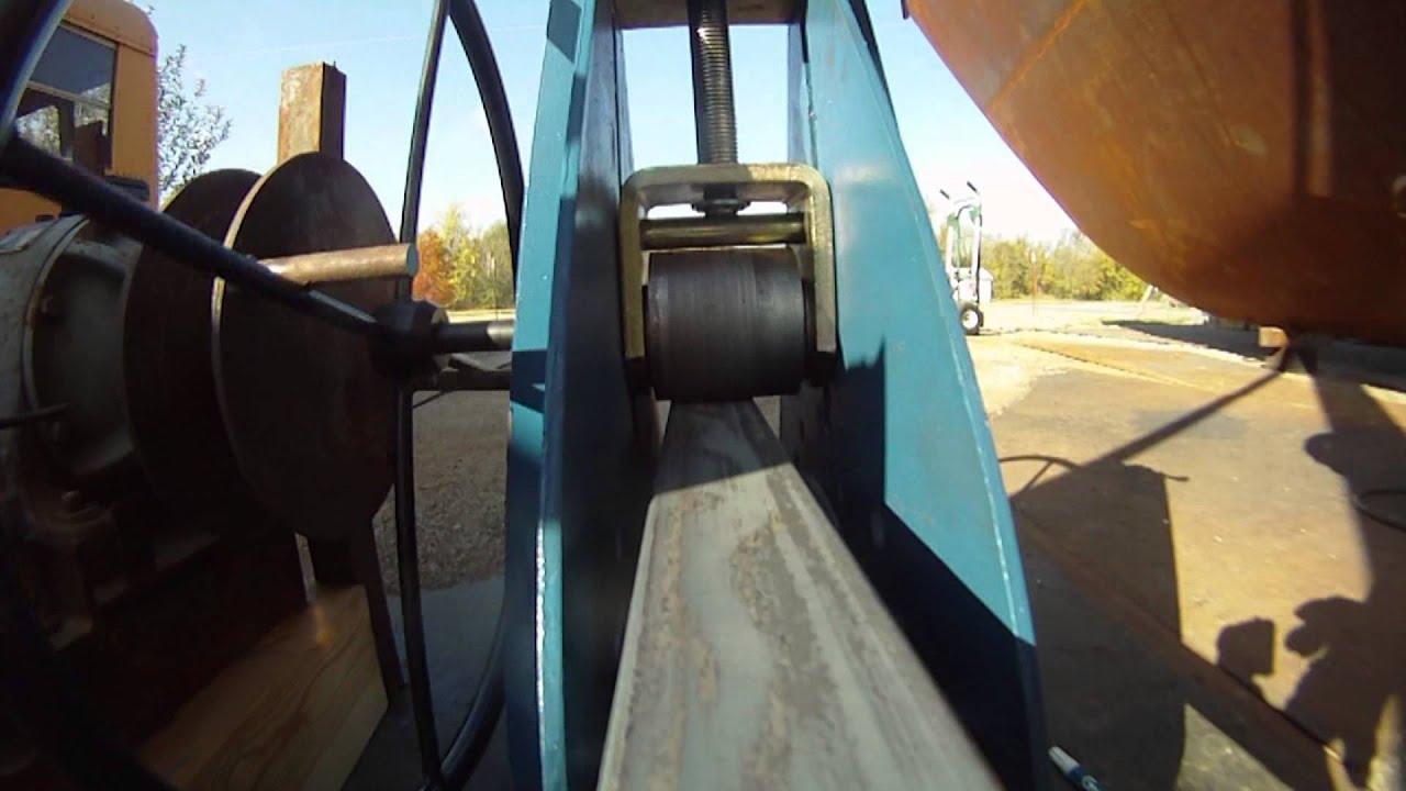 Diy Roller Bending Angle Iron Part 2 Youtube