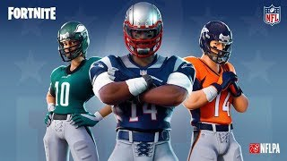 *NEW* Fortnite NFL Skins Revealed! - Fortnite Battle Royale New Skins Update